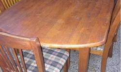 dining table with 6 chairs Selling cheap as is, not for