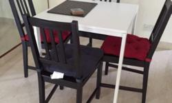 Relocation sale IKEA dining set: 1 Melltorp table -