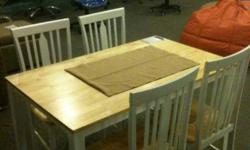 -Selling used dining table only (WITHOUT the chairs)