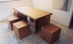 ++ Pre-Loved Corrugated Dining Set for Sale ++