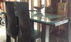 Giving away dining table for 4 chairs...dining table