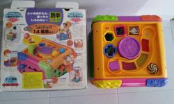 Used. Discovering learning station for toddlers. Light