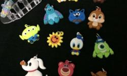 charms only ... total 13 pcs.. cheer.. Fast deal and