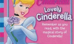Lovely Cinderella Age: 3-7 years old Come with