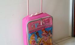 Disney Princess trolley Bag with 2 wheels. Can be used