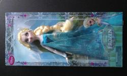 New & sealed. Bought from Disney Park in Orlando. Elsa