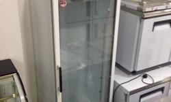 Glass display chiller $450