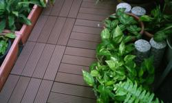 EASY INSTALLATION FLOOR DECKS FOR OUTDOOR GARDEN,