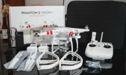 Letting go a good condition DJI Phantom Vision 2+ drone