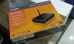 Full set of Dlink DIR-600 router for sale, comes with