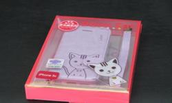 pattern: Domi lovely cat for iphone 5, brand new