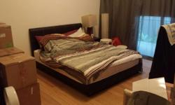 Queen Sized Bed for Sale! Bed and mattress are in