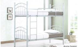 Brand new double deck bed Colour: Silver Visit us at