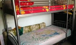 DOUBLE DECKER COT FROM COURTS 1 BED FROM COURTS-BRAND