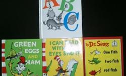 Titles : 1) ABC (hardcover) 2) Green Eggs and Ham 3) I
