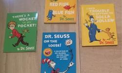 Collection of four Dr. Seuss Books. Complete collection