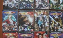 List of Doctor Who DVD as bundle Good condition. Hardly