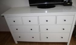 Chest of Drawers set in great condition. Excellent for