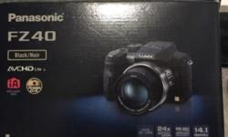 Hi I'm selling my beloved DSLR Panasonic FZ40 With the