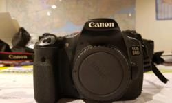 DSLR Canon 60D Body - past guarantee period (1 Year) -