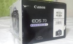 Canon Eos 7d (EF-S 15-85 IS USM) package - Dslr body -