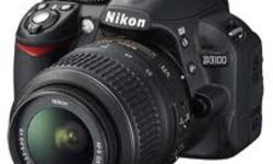 BRAND : NIKON MODEL : D3100 (BLACK) FEATURES * 14.2