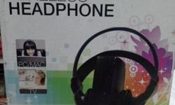 D.Las dual frequency wireless headphone for sale 3.5 mm