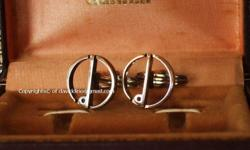 ~~~DunhiLL PLaTinum CuFF Links for GenTLeMen $188 ~~~
