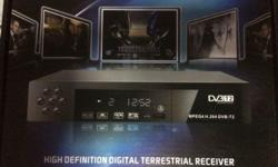 DVB-T2 for digital TV with around 100 cm Antenna. For