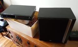 Moving and selling DVD and 5.1 sound system for 30