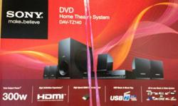 Sony's compact home theater system with DVD and USB