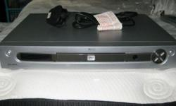 ALBA DVD player. With remote control, TV connection