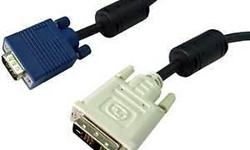 Hi All, DVI Cables is available for sales. ($5/-) VGA