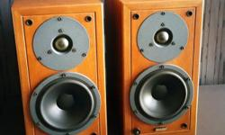 Audiophile speakers in very good condition. A Classic
