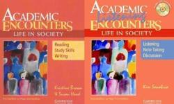 Each at $2 Academic Encounters: Life in Society