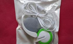 Brand new earphone or earpiece or headphone. Comes with