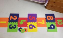 Beautiful / Colourful Hopscotch from ELC. Comes with