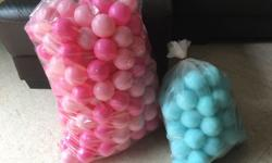 3 sets of balls and ball pit Good condition, preloved