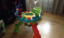 Early learning center play table. Excellent condition