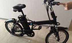 Cool , sleek and sporty design electric bicycle . This