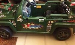 Electric Off Road Jeep Condition 8/10 - comes with