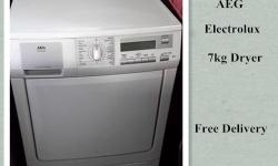 Electrolux 7kg Dryer, good condition, free delivery. We