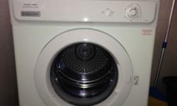 For sale Electrolux Dryer EDV600 6kg complete with vent