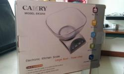 - CAMRY Brand - Electronic Kitchen Scale (Excellent