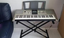 Seldom used Yamaha electronic organ with stand for sale