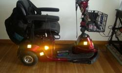 Selling Electronic Scooter for $1,200. (Originally from