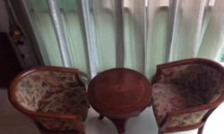 Moving sale !!! Elegant Coffee Table Set with antique