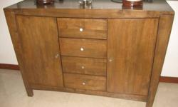 Letting go an elegant wooden sideboard that comes with