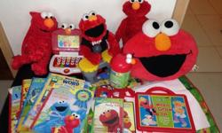 Elmo collection.. Not for the fussy buyer. All for 60