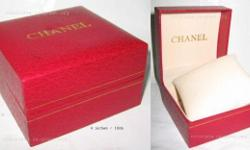 Chanel watch box (red) Please see pictures - very clean